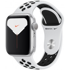 Apple Watch Nike Series 5 GPS 40mm Silver Aluminum w. Silver Aluminum (MX3R2)