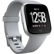 Fitbit Versa, Gray/Silver Aluminum (FB505SRGY)