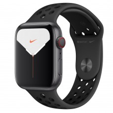 Apple Watch Series 5 GPS + LTE 44mm Space Gray Aluminum w. Anthracite / Black Nike Sport Band (MX3A2 / MX3F2)