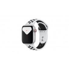Apple Watch Series 5 GPS + LTE 40mm Silver Aluminium Case with Pure Platinum / Black Nike Sport Band (MX372, MX3C2)