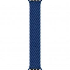 Apple Atlantic Blue Braided Solo Loop Watch - Size 11 для Watch 42 / 44mm (MY8J2)