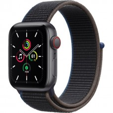 Apple Watch SE GPS + Cellular 40mm Space Gray Aluminum Case with Charcoal Sport L. (MYEE2) / MYEL2