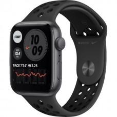 Apple Watch Nike SE GPS 44mm Space Gray Aluminum Case w. Anthracite / Black Nike Sport B. (MYYK2)