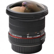 Samyang 8mm f/3,5 AS IF UMC CS II for Canon EF