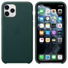 Apple iPhone 11 Pro Leather Case - Forest Green (MWYC2)