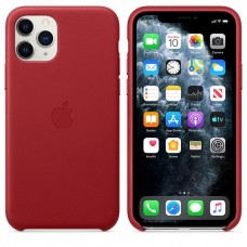 Apple iPhone 11 Pro Leather Case - PRODUCT RED (MWYF2)