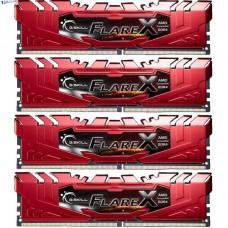 G.Skill Flare X DIMM Kit 32GB (4x 8GB) DDR4-2400MHz CL15 (F4-2400C15Q-32GFXR)