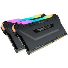 Corsair 16 GB (2x8GB) DDR4 3000 MHz Vengeance RGB Pro Black (CMW16GX4M2C3000C15)