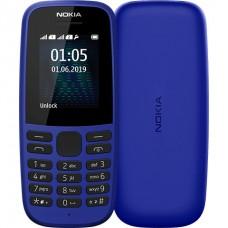 Nokia 105 Single Sim 2019 Blue (16KIGL01A13) UA