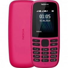 Nokia 105 Single Sim 2019 Pink (16KIGP01A13) UA