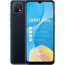 OPPO A15s 4/64GB Black UA