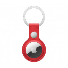 Apple AirTag Leather Key Ring Product Red (MK103)