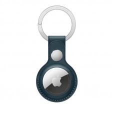 Apple AirTag Leather Key Ring Baltic Blue (MHJ23)