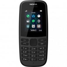 Nokia 105 Dual Sim 2019 Black (16KIGB01A01) UA