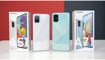 Samsung Galaxy A51 и Samsung Galaxy A71 - обзор новинок