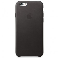 6s Plus Leather Case - Black  MKXF2