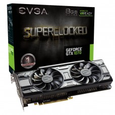 EVGA GEFORCE GTX 1070 SC GAMING ACX 3.0 BLACK EDITION (08G-P4-5173-KR)