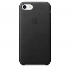 Apple iPhone 7 Leather Case - Black MMY52