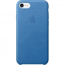 Apple iPhone 7 Leather Case - Sea Blue MMY42