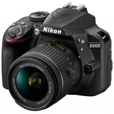 Nikon D3400 kit (18-55mm VR) Black