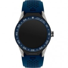 TAG Heuer Connected Modular 45 Blue Rubber with Blue Mat Ceramic Bezel (SBF8A8012.11FT6077)