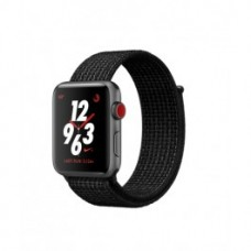 Apple Watch Nike+ Series 3 (GPS + Cellular) 42mm Space Gray Aluminum w. Black/Pure PlatinumSport L. (MQLF2)