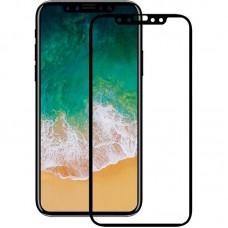 Защитное стекло Mocolo 2.5D Full Cover Tempered Glass iPhone X Black (PG1811)