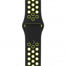 Apple Black/Volt Nike Sport Band для Watch 42mm (MQ2Q2)
