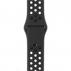 Apple Anthracite/Black Nike Sport Band для Watch 38mm (MQ2K2)