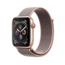Apple Watch Series 4 GPS + Cellular 44mm Gold c. w. Pink Sand Sport l. (MTVX2)