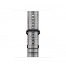 Apple Black Woven Nylon Band для Watch 38mm (MQV92)