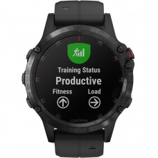 Garmin Fenix 5 Plus Sapphire Black with Black Band (010-01988-00)