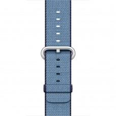 Apple Navy/Tahoe Blue Woven Nylon Band для Watch 38mm (MP222)