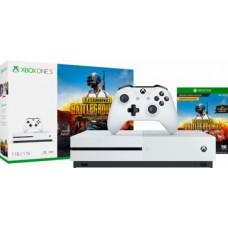 Microsoft Xbox One S 1TB White With PUBG Game