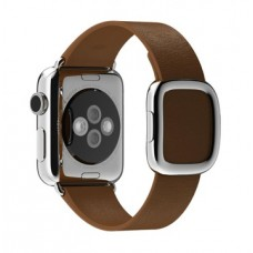 Apple Brown Modern Buckle Medium для Watch 38mm MJ552