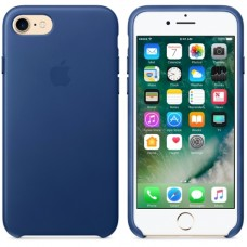 Apple iPhone 7 Leather Case - Sapphire MPT92