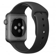 Apple Black with Space Black Pin Sport Band для Watch 38mm MJ4F2