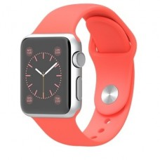 Apple Watch Sport 38mm Silver Aluminum (MJ2W2) (pink)