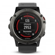 Garmin fenix 5X Sapphire Edition Multi-Sport Training GPS Watch (Slate Gray, Metal Band) (010-01733-04)