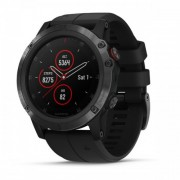 Garmin Fenix 5X Plus Sapphire, Black with Black Band (010-01989-00)