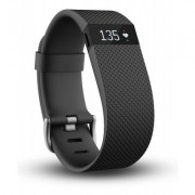 Fitbit Charge HR, Black Large