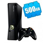 Microsoft Xbox 360 Slim 500Gb (FREEBOOT + прошивка LT+ 3.0) + 115 игр
